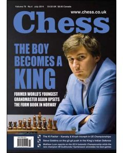Chess Magazine - July 2014: The Boy Becomes a King