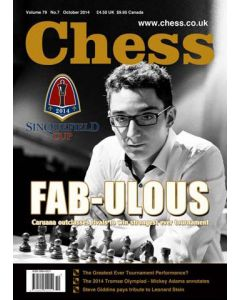 Chess Magazine - October 2014: Fab-ulous Caruana to Win Strongest Ever Tournament