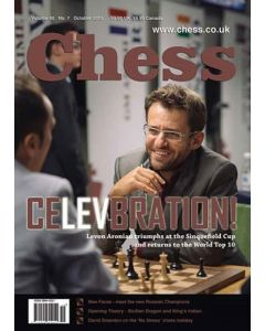 Chess Magazine - October 2015: Levon Aronian Triumphs at the Sinquefield Cup