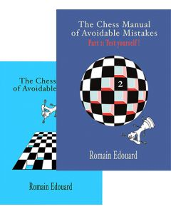The Chess Manual of Avoidable Mistakes 1 + 2: Save 15% on both volumes