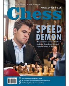 Chess Magazine - August 2016: Speed Demon Magnus Carlsen