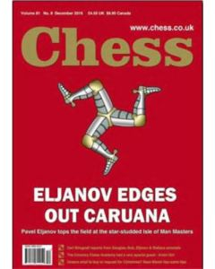 Chess Magazine - December 2016: Eljanov Edges out Caruana