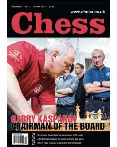 Chess Magazine - October 2017: Garry Kasparov - Chairman of the Board