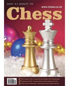 Chess Magazine - December 2017: Not So Sunny in Crete
