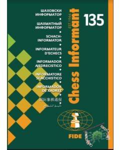 """Chess Informant 135: Including """"Gibraltar Chess Festival"""""""