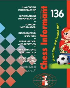 Chess Informant 136 (Book + CD): Where Chess and Football Meet