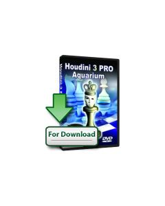 Houdini 3 PRO Aquarium (Download): Bonus: Chess Opening Encyclopedia 2012 + 1 yr membership ChessOk