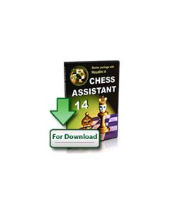 Upgrade Chess Assistant 14 Starter Package (Download): With Houdini 4