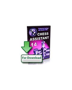 Upgrade Chess Assistant 14 Professional Package (Download): With Houdini 4 PRO