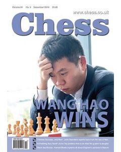 Chess Magazine December 2019: Wang Hao Wins