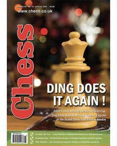 Chess Magazine January 2020: Ding Does it Again