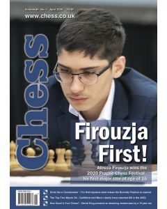Chess Magazine April 2020: Firouzja First!