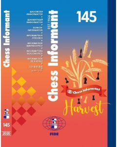 Chess Informant 145 (Book + CD): Harvest