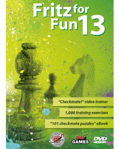 "Fritz for Fun 13: Incl: ""Checkmate!"" video trainer & 1000 training exercises"