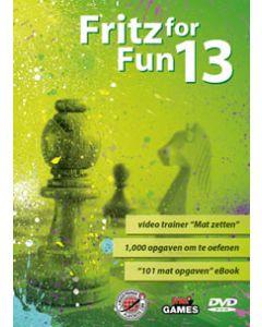 "Fritz for Fun 13 - Nederlandse versie: Video trainer ""Mat Zetten"" & 1000 opgaven om te oefenen"
