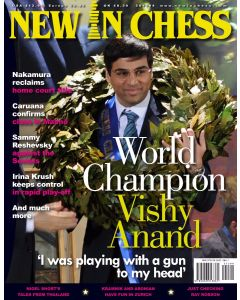 New In Chess 2012/4: Anand: 'I was playing with a gun to my head'