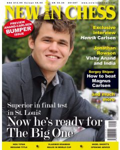 New In Chess 2013/7: Preview Anand-Carlsen Bumper Issue