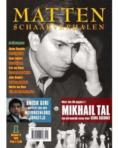 MATTEN, Schaakverhalen 8: Met o.a. meer dan 60 pagina's Mikhail Tal