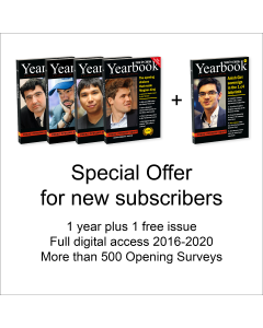 Yearbook Special Offer for new Subscribers: Chess Opening News