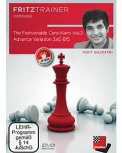 Vidit Gujrathi: The Fashionable Caro-Kann Vol. 2: Advance Variation 3.e5 Bf5