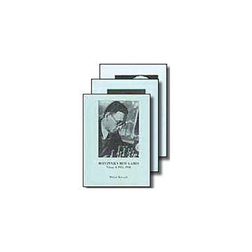 Botvinnik Best Games Volumes 1, 2 & 3
