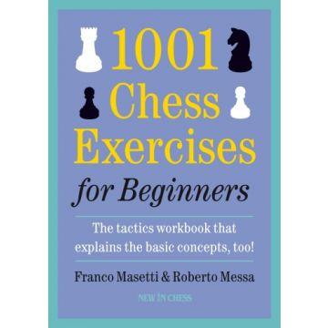 1001 Chess Exercises for Beginners-Paperback