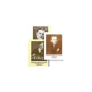 Complete Games of Alekhine Vol. 1, 2 & 3