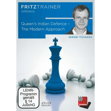 Sergei Tiviakov : Queen's Indian Defence - The Modern Approach