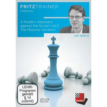 Jan Werle: A Modern Approach against the Sicilian  Vol.2: The Moscow Variation