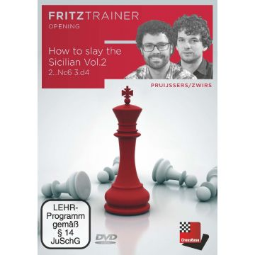 Pruijssers/Zwirs: How to slay the Sicilian Vol.2: 2...Nc6