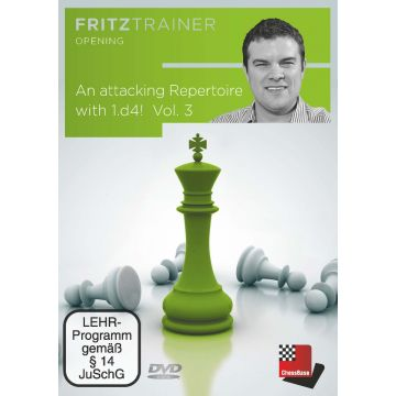 Nicholas Pert: An attacking Repertoire with 1.d4 - Part 3 (King's Indian, Grünfeld and Sidelines)