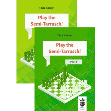 Play the Semi-Tarrasch! Two Volumes Combined