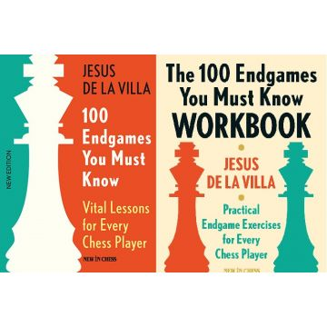 100 Endgames You Must Know Book + Workbook