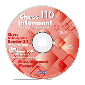 Chess Informant 110 Book + CD