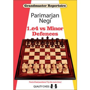 Grandmaster Repertoire - 1.e4 vs Minor Defences (hardcover)