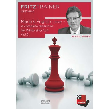 Mihail Marin:  Marin's English Love -  A complete repertoire for White after 1.c4 Vol. 2