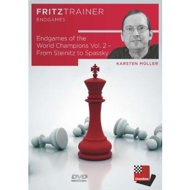 Karsten Müller: Endgames of the World Champions Vol. 2 - From Steinitz to Spassky