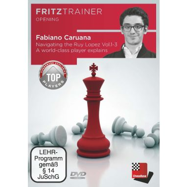 Fabiano Caruana: Navigating the Ruy Lopez  - A world-class player explains Vol. 1-3