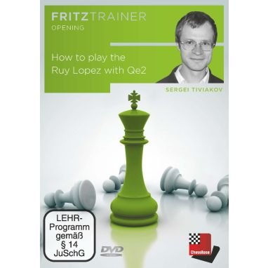 Sergei Tiviakov: How to play the Ruy Lopez with Qe2