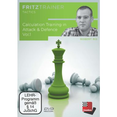 Robert Ris: Calculation Training in Attack & Defence Vol.1