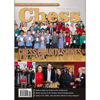 Chess Magazine - August 2013