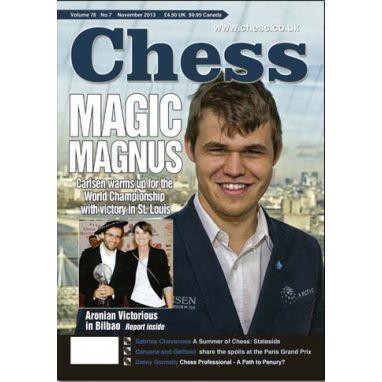 Chess Magazine - November 2013