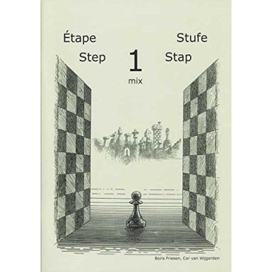 Learning Chess Workbook Step 1 Mix