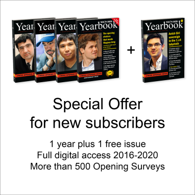 Yearbook Special Offer for new Subscribers