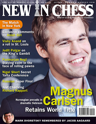 New In Chess magazine